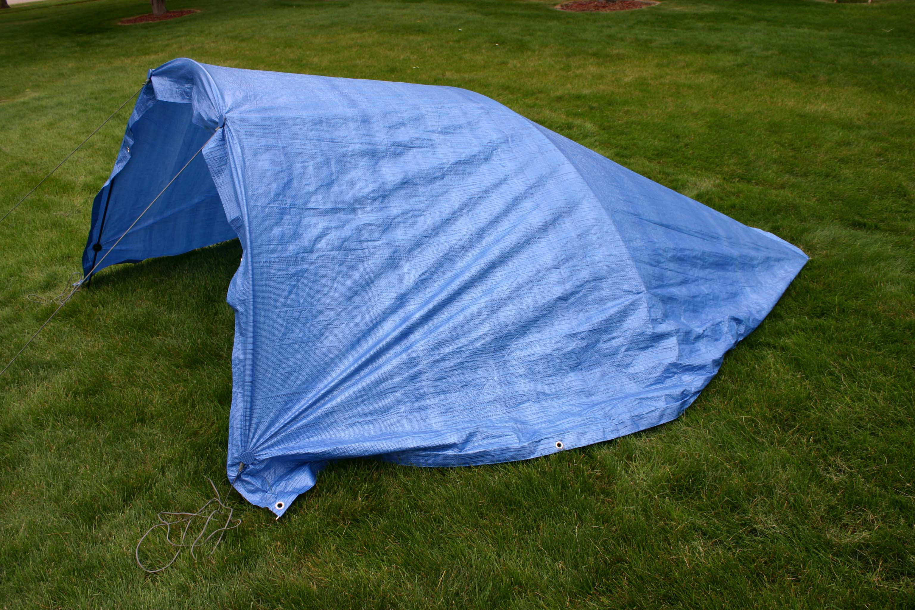 The side hole of the hub on the Tarp Buddy is designed to allow aluminum shock corded tent poles up to 3/8 inch diameter to be inserted for creating ... & Uses (Photos) - Tarp Buddy